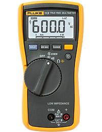 Digital Multimeters: Fluke 113 Utility Multimeter